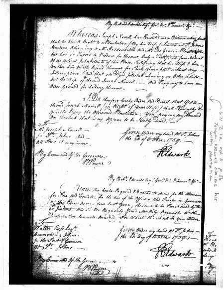 joseph newell 1759