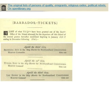 tickets from Barbados