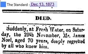 James Noel death